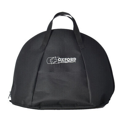 Oxford Lidsack Motorcycle Motorbike Water Resistant Helmet Bag Black - OL261