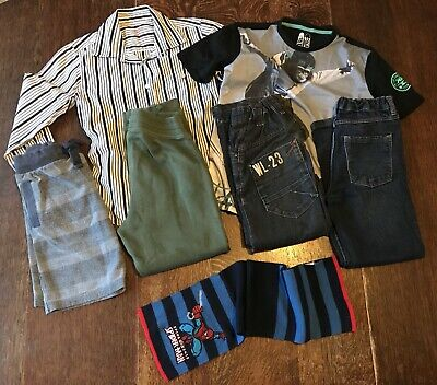 Bundle Boys Clothes, ages 7, 7-8, 8, jeans, top, shirt, shorts, F&F, Next, H&M