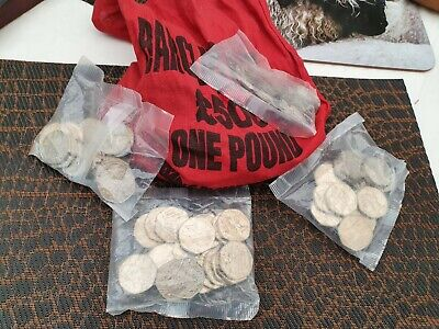 """Sealed £10 Bag Uncirculated 1994 Old 50p fiftypences D Day Coins 20  a bag ¥"""""""""""