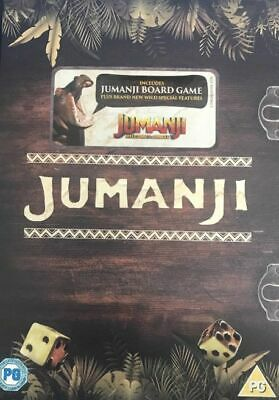 Jumanji (Robin Williams) Special Edition With Board Game DVD New & Sealed