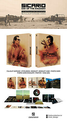 Sicario Day of the Soldado SteelBook [Blu-ray: Region Free, KimchiDVD] #292/350