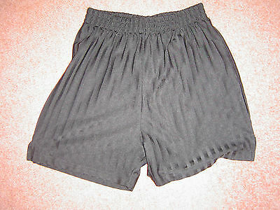 Boys Sports Shorts Black Age 9 to 10 Yrs