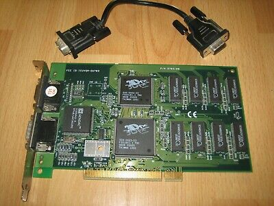 3Dfx Voodoo 1 Gainward GW703 PCI VGA Video Graphics Array Card Works with Cable