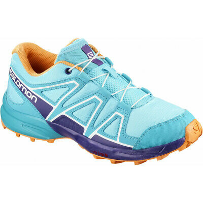 Chaussures Salomon Speedcross J Blue Curacao