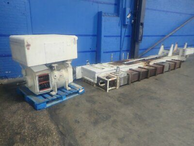 """Extruder Parts 200 Hp  154"""" Length 7"""" X 14"""" Opening 10191390004"""