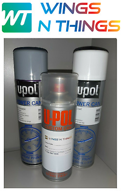 UPOL AEROSOL PAINT PRIMER LACQUER for DUCATI MOTORCYCLE COLOUR BLUE L39N