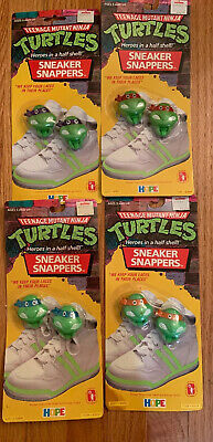 NEW VINTAGE TEENAGE MUTANT NINJA TURTLES SNEAKER SNAPPERS RAPHAEL RED