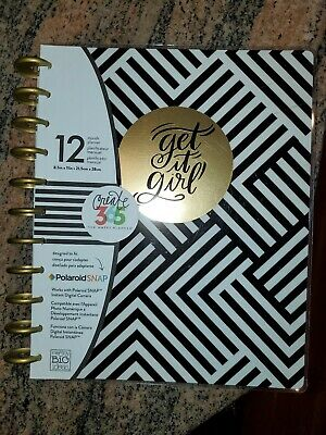 ME & MY BIG IDEAS CREATE 365 THE HAPPY PLANNER GET IT GIRL 12 MONTH Undated