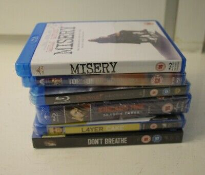 X6 assorted Blue Ray Discs x5 new in packaging ##DAWS1BG