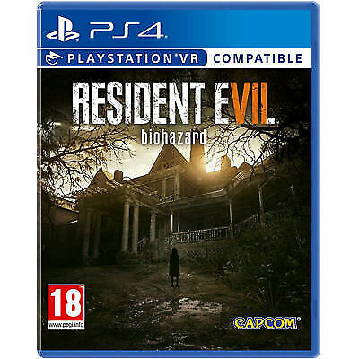 Resident Evil 7: Biohazard (PS4, 2017) VR Compatible Excellent Cond