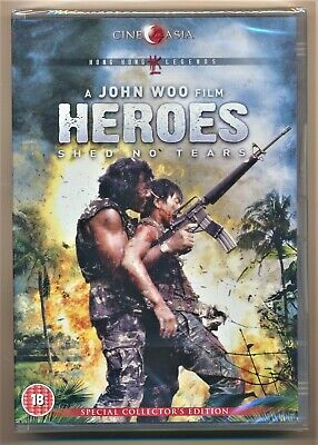 Heroes Shed No Tears DVD New and Sealed