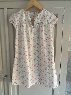 The Little White Company Girls Nightdress Age 7 To 8 Excellent Condition