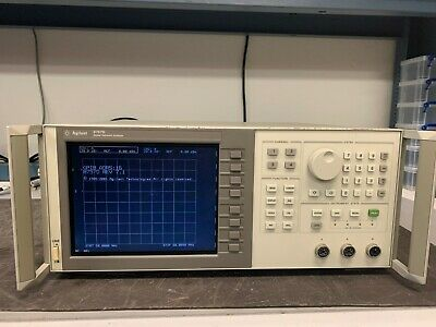Agilent 8757D Scalar Network Analyzer with LCD Screen