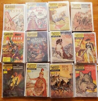 Classics Illustrated Lot Bundle Wholesale --58 COMICS-- CLICK TO SEE WHICH ONES