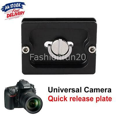 Quick Release Plate For Benro Tripod Ball Head Arca Swiss Compatible PU-50 DC377