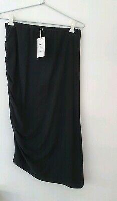 Bae the label stay up late skirt black size s