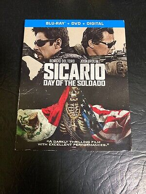 Sicario: Day of the Soldado (Blu-ray/DVD, 2018, Includes Digital Copy)