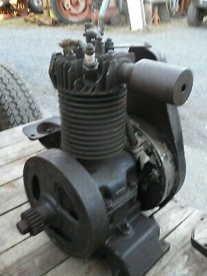 Vintage  Jacobsen  Air Cooled  Gas Engine  Old  Motor Part's Lawnmower