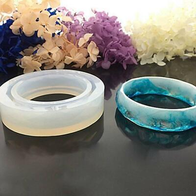 Silicone Resin Mold Casting Mould For Resin Bracelet DIY 2019new Jewelry Ba J2L0