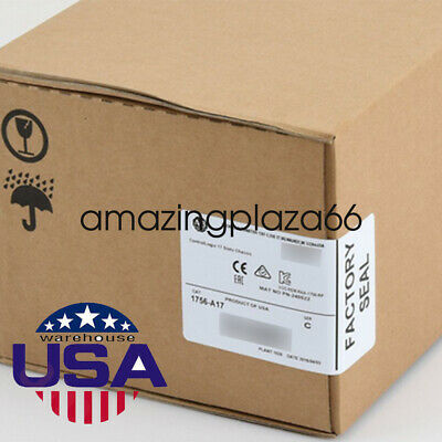 NEW USA SALE Professional Allen-Bradley 1756-A17 ,17Slot ControlLogix Chassis CE