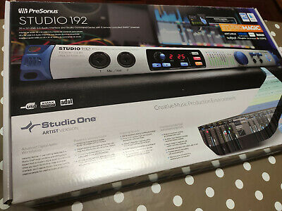 Interface audio Studio 192 PreSonus USB 3.0