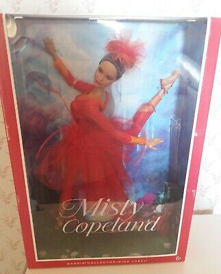 Barbie Misty Copeland Doll Pink Label NRFB