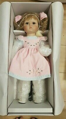 Hillview Lane Nicola Porcelain Collection Doll