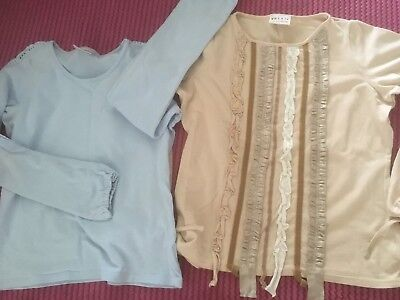 Girls Tops Age 12 Items X2 long sleeve both Next