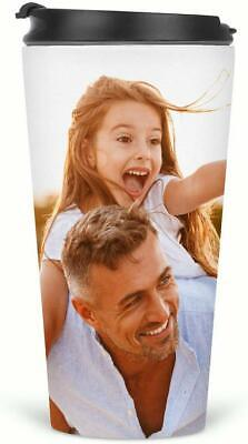 Personalised Custom Photo Gift Thermal Travel Mugs for Coffee Tea Printed Flask