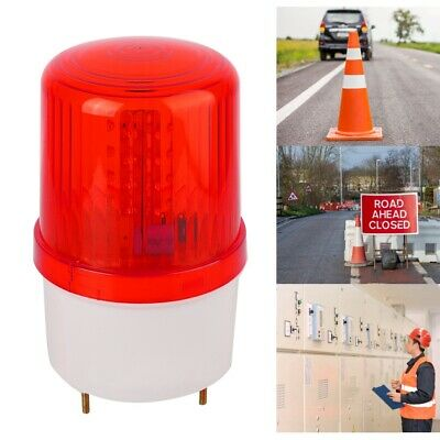 LED Lamp Warning Light Flashing Beacon For Outdoor Traffic Construction Red