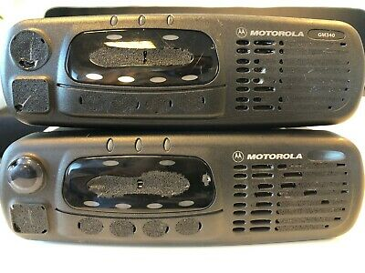 2 * GM340 VHF - 136-174  Mhz MOTOROLA MDM25KHC9AN1AE (without front panel)