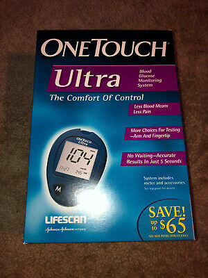 One Touch Ultra Glucose Monitor Meter with Carrying Case