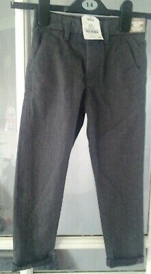 Bnwt Next Grey Adjustable Waist Trousers Age 5 Years