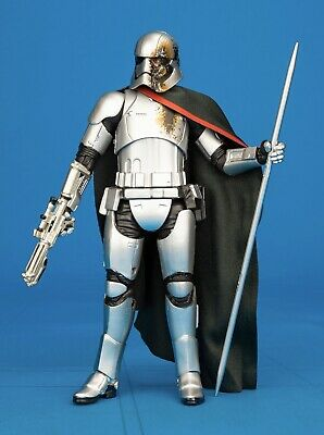 STAR WARS BLACK SERIES: 6 Inch - Captain Phasma Quicksilver - LOOSE / MINT