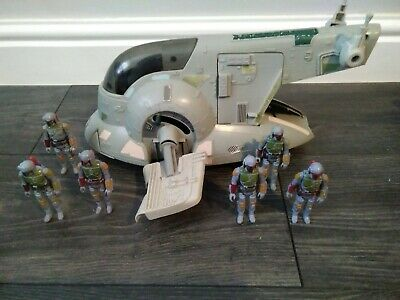 Star Wars Vintage Boba Fett Action Figures and slave 1 ship