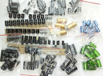 [1 lot] 160pcs electrolytic  capacitors  2,2uF-2200uF Roederstein ROE 18 values