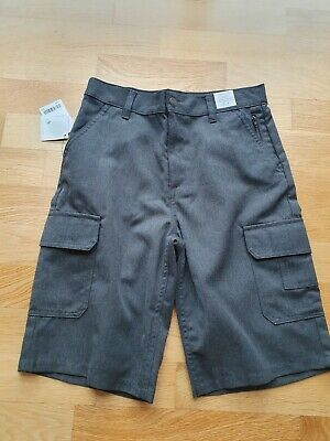 Next Grey School Shorts. New With Tags. Size 12 Yrs