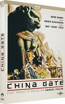 China Gate (Gene Barry,Angie Dickinson,Nat King Cole) Guerre - BLU-RAY NEUF