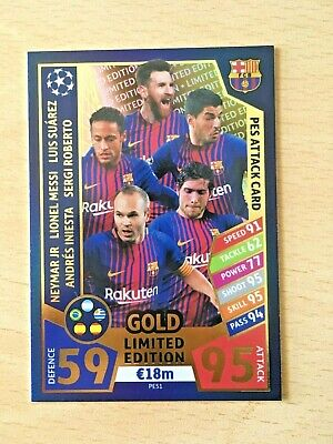 Topps Match Attax Champions League 2015//16 Individual Pro 11 cartes