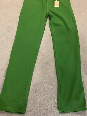 Joules - Mens Green Stanaway Chino/twill  Trousers - Size 34 - New with Tags