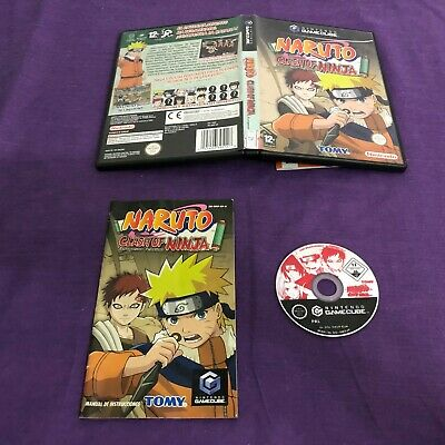 Ngc_0001	Juego Naruto Clash Of Ninja Nintendo Game Cube