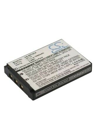 Replacement Battery For CASIO Exilim Zoom EX-Z150