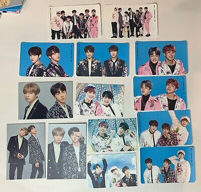 BTS The Wings Tour Final Official Photocard Sticker