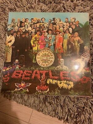 Beatles Sgt Peppers Lonely Hearts Club Band Vinyl 1967