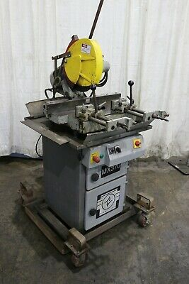 Maxisaw Model #Mx370 Cold Saw: Yoder #72492
