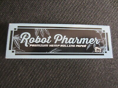 Robot Pharmer Organic Hemp Rolling Papers Oklahoma Medical Marijuana Market RARE