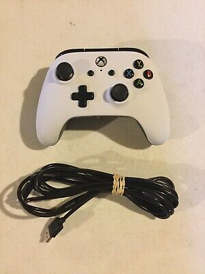 Microsoft Xbox One PowerA Enhanced Wired Controller White