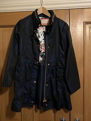 Girls Ted Baker Navy Coat Age 13