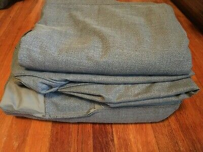 Ikea EKTORP 3 Seat Sectional Loveseat Chaise Slipcover Cover NORDVALLA DARK GRAY