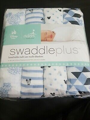 Aden and anais muslin swaddles Disney 4 pack